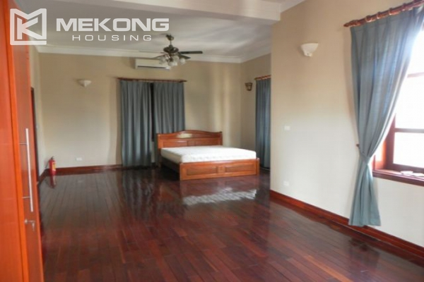 Furnsihed Villa with swimming pool, nice courtyard, and spacious living space in To Ngoc Van street 15