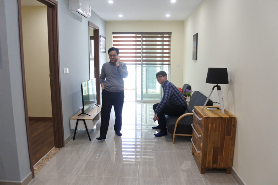 Good price apartment with 2 bedroom apartment for rent in L3 The Link Ciputra Hanoi 2