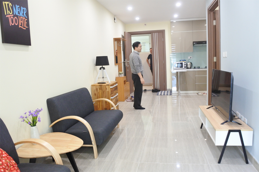 Good price apartment with 2 bedroom apartment for rent in L3 The Link Ciputra Hanoi 1