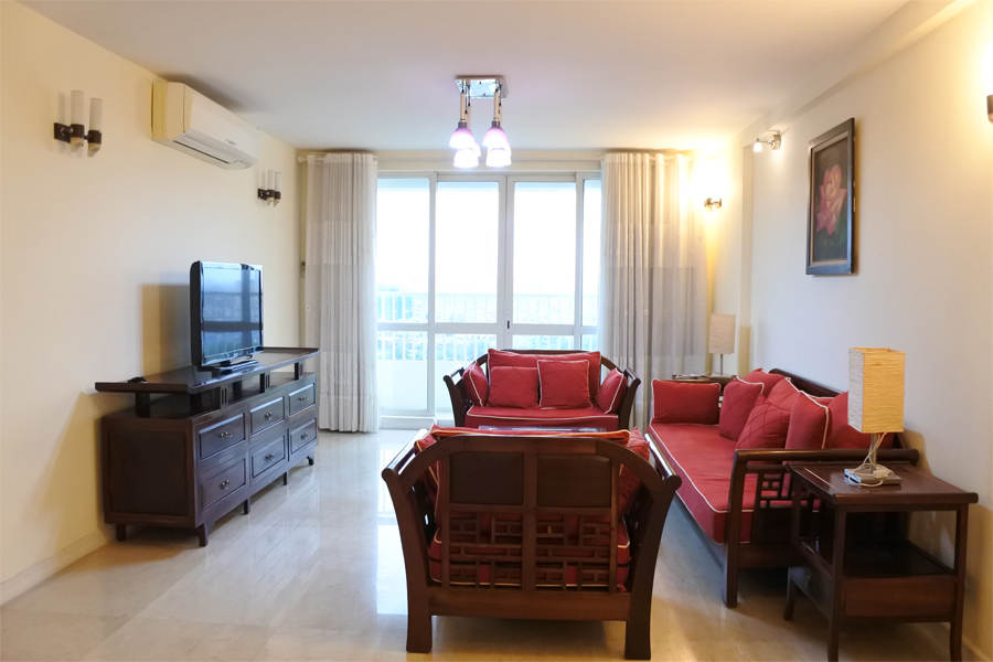 Good price apartment with 4 bedrooms for rent in P2 tower Ciputra Hanoi 1