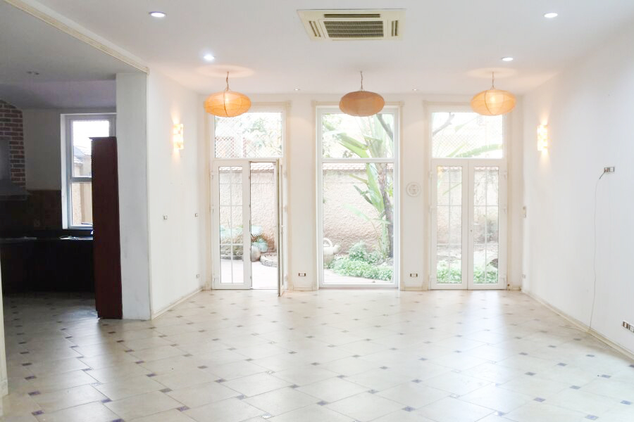 Gorgeous villa with 5 BRs for rent in D Block, Ciputra Hanoi, unfurnished 1