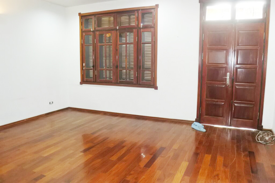 Gorgeous villa with 5 BRs for rent in D Block, Ciputra Hanoi, unfurnished 10