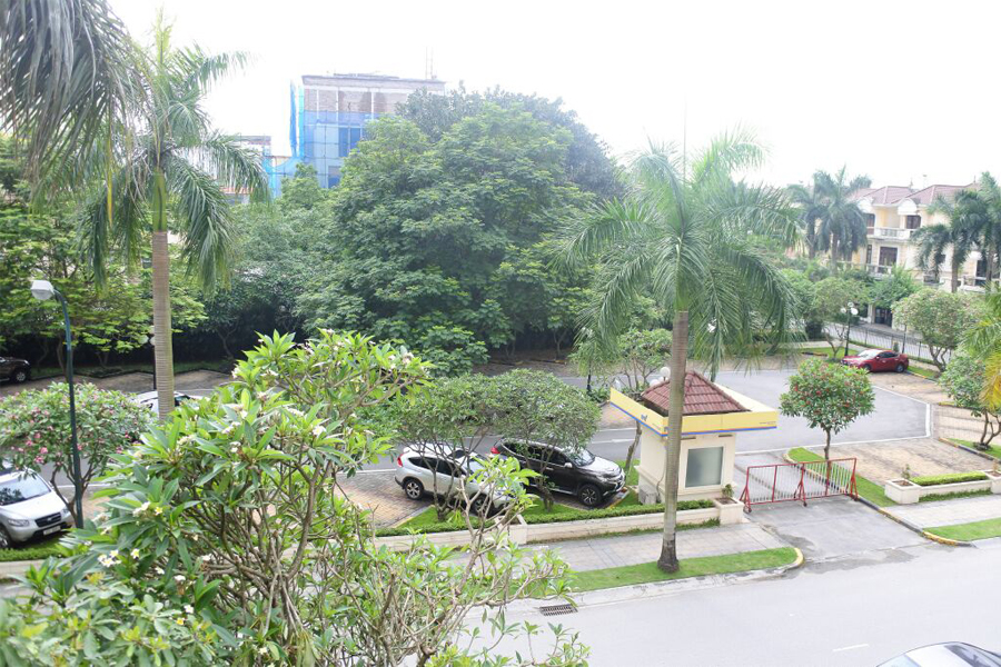 Gorgeous villa with 5 BRs for rent in D Block, Ciputra Hanoi, unfurnished 19
