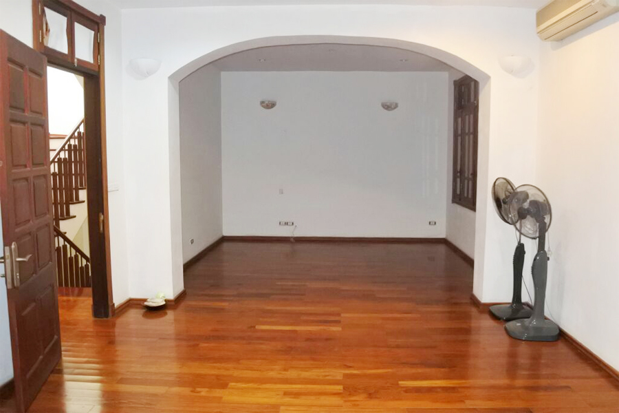 Gorgeous villa with 5 BRs for rent in D Block, Ciputra Hanoi, unfurnished 6