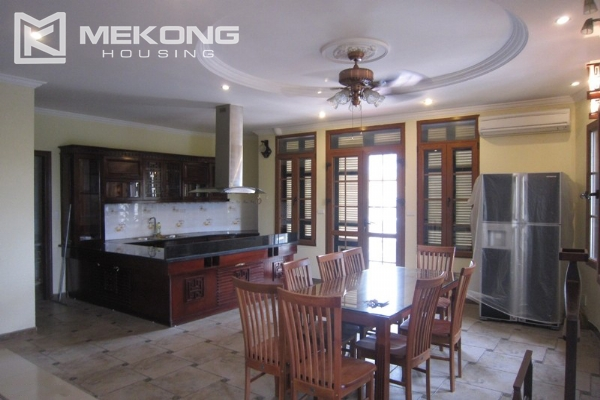 Hanoi Tay Ho villa for rent with swimming pool 7