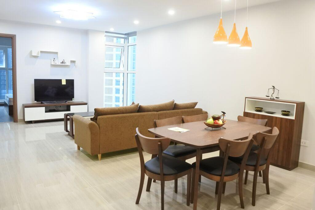 L3 Ciputra apartment for rent. Area of 114 sqm, including 3 bedroom and 2 bathroom.