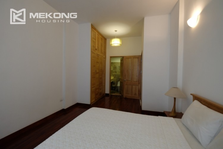 Lake bank serviced apartment for rent in Quang Khanh 14