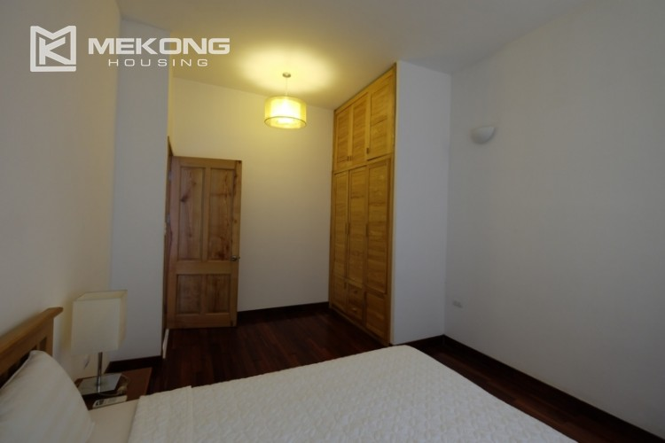 Lake bank serviced apartment for rent in Quang Khanh 18