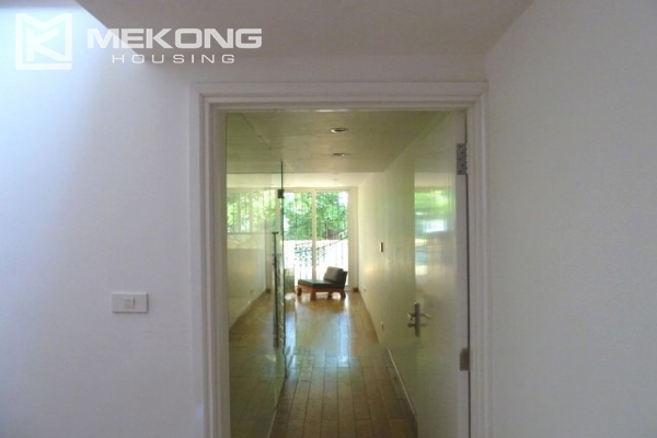 Lake front apartment with 2 bedrooms and 3 floors for rent at the center location of Hoan Kiem district 16