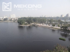 Lake view 2 bedroom apartment for rent in Hai Ba Trung