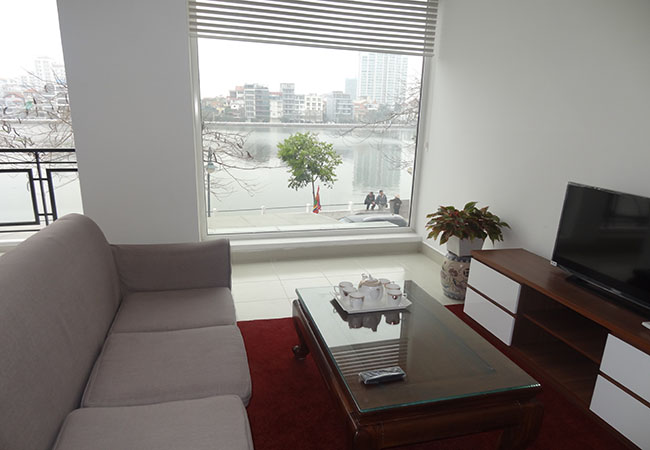 Lake view apartment with 2 bedroom for rent in Westlake area, Tay Ho district