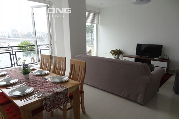Lake view apartment with 2 bedroom for rent in Westlake area, Tay Ho district 1