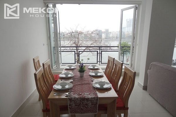 Lake view apartment with 2 bedroom for rent in Westlake area, Tay Ho district 6
