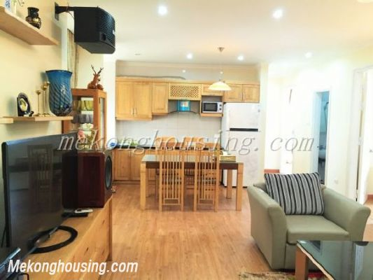 Lake view apartment with 3 bedrooms on high floor in CT13B tower, Vo Chi Cong street, Tay Ho district 2