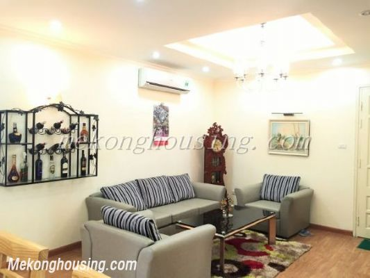 Lake view apartment with 3 bedrooms on high floor in CT13B tower, Vo Chi Cong street, Tay Ho district 4