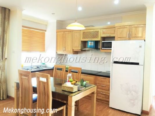 Lake view apartment with 3 bedrooms on high floor in CT13B tower, Vo Chi Cong street, Tay Ho district 5