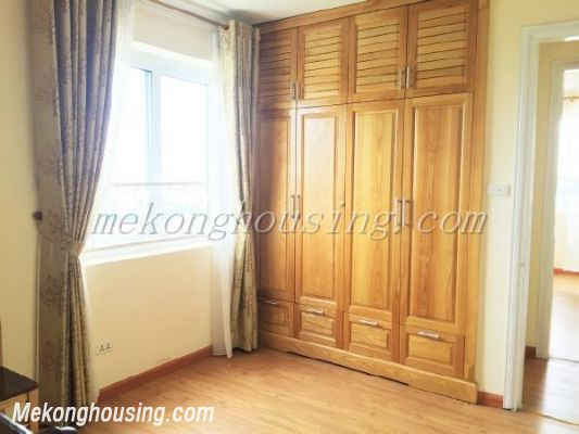 Lake view apartment with 3 bedrooms on high floor in CT13B tower, Vo Chi Cong street, Tay Ho district 10