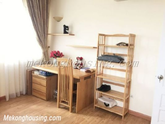 Lake view apartment with 3 bedrooms on high floor in CT13B tower, Vo Chi Cong street, Tay Ho district 8