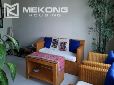 Lake view serviced apartment with 1 bedrooms for rent in Tay Ho
