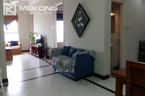 Lake view serviced apartment with 1 bedrooms for rent in Tay Ho 7