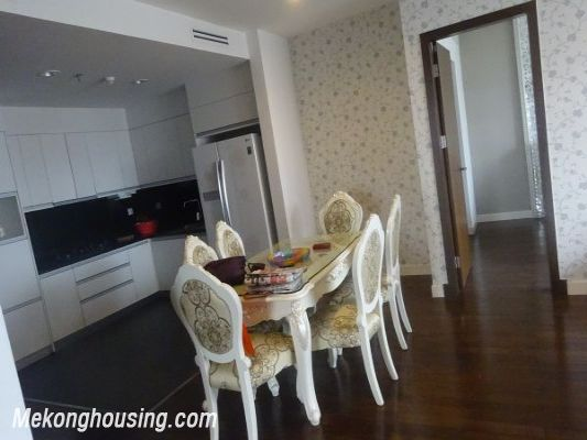 Lancaster 3 bedroom apartment for rent in Ba Dinh district, lake view 3