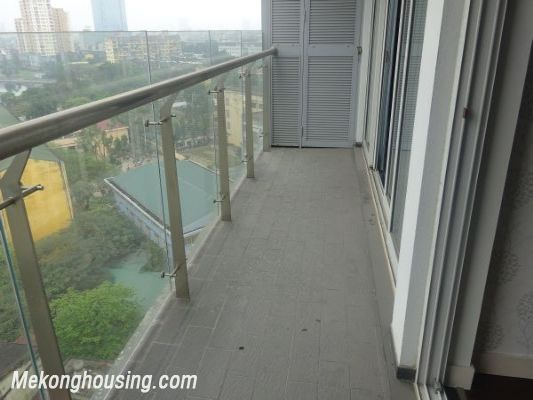 Lancaster 3 bedroom apartment for rent in Ba Dinh district, lake view 8