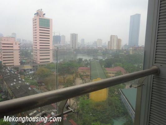 Lancaster 3 bedroom apartment for rent in Ba Dinh district, lake view 13