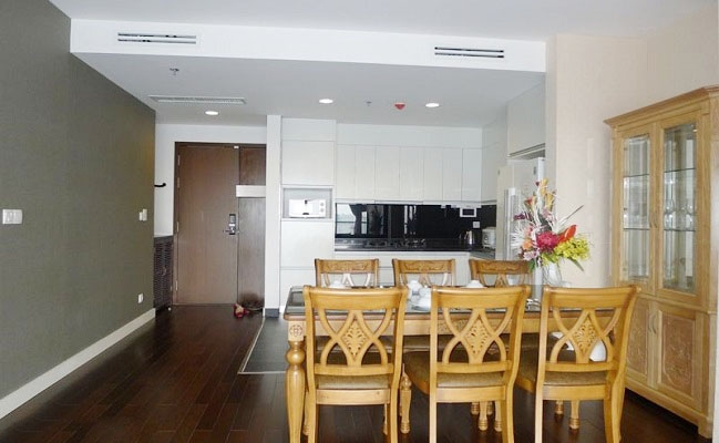 Lancaster 3-bedroom with lake view for rent in 20 Nui Truc street, Hanoi