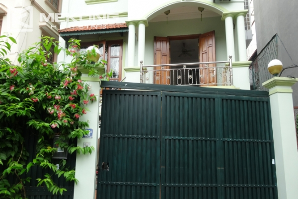 Large house with 5 bedrooms in To Ngoc Van street for rent 1