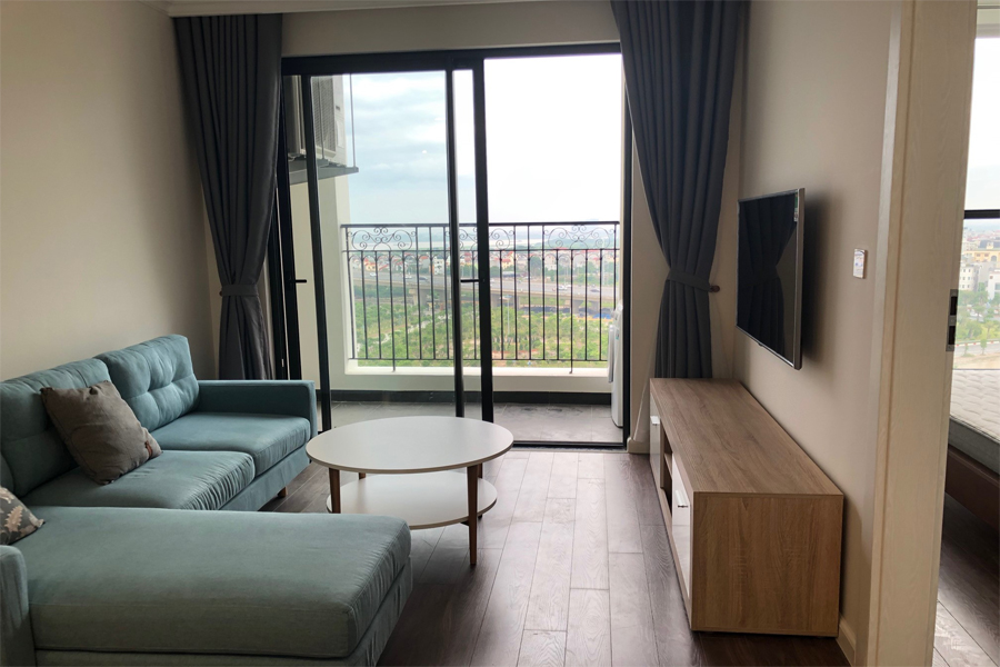 Lovely river view 2 bedroom apartment for rent in R3 tower, Sunshine Riverside 1