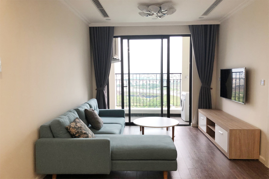 Lovely river view 2 bedroom apartment for rent in R3 tower, Sunshine Riverside 2