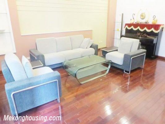 Luxurious house with 4 bedrooms for rent in Kim Ma street, Ba Dinh, Hanoi 1