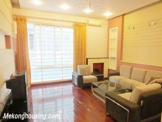 Luxurious house with 4 bedrooms for rent in Kim Ma street, Ba Dinh, Hanoi 2