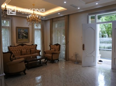 Luxurious villa with 5 bedroom for rent in T block Ciputra Hanoi
