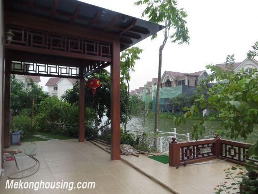 Luxurious villa with 5 bedrooms for rent in Vinhomes Riverside, Long Bien district, Hanoi 6