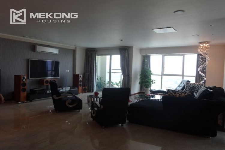 Luxury 267 sqm apartment with 4 bedrooms in L2 tower Ciputra Hanoi 14