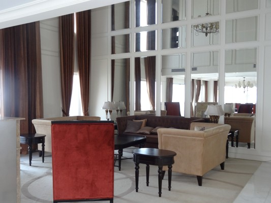 Luxury and spacious penthouse with large terrace for rent in Golden Westlake Hanoi