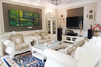 Luxury and spacious villa with 5 bedroom for rent in T area, Ciputra, Tay Ho, Hanoi