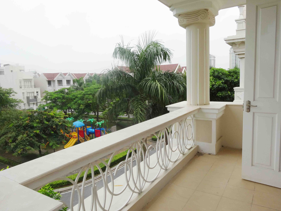 Luxury and spacious villa with 5 bedroom for rent in T area, Ciputra, Tay Ho, Hanoi 25