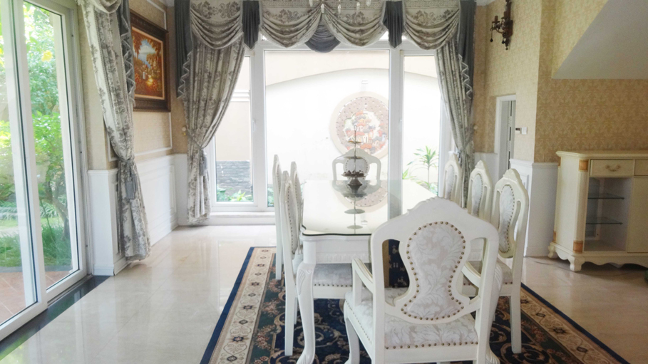 Luxury and spacious villa with 5 bedroom for rent in T area, Ciputra, Tay Ho, Hanoi 3