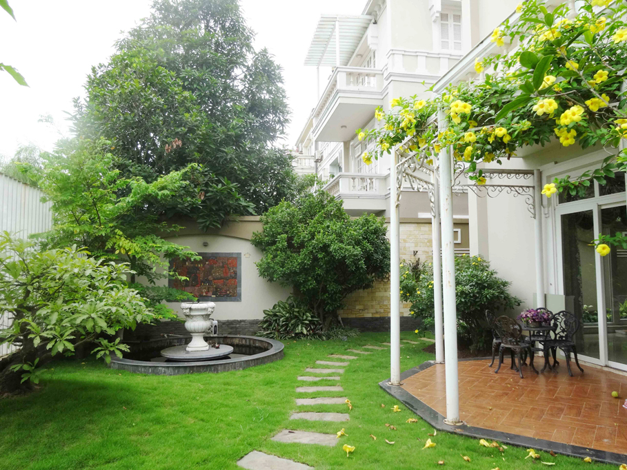Luxury and spacious villa with 5 bedroom for rent in T area, Ciputra, Tay Ho, Hanoi 30