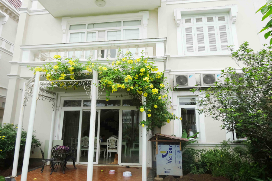 Luxury and spacious villa with 5 bedroom for rent in T area, Ciputra, Tay Ho, Hanoi 32