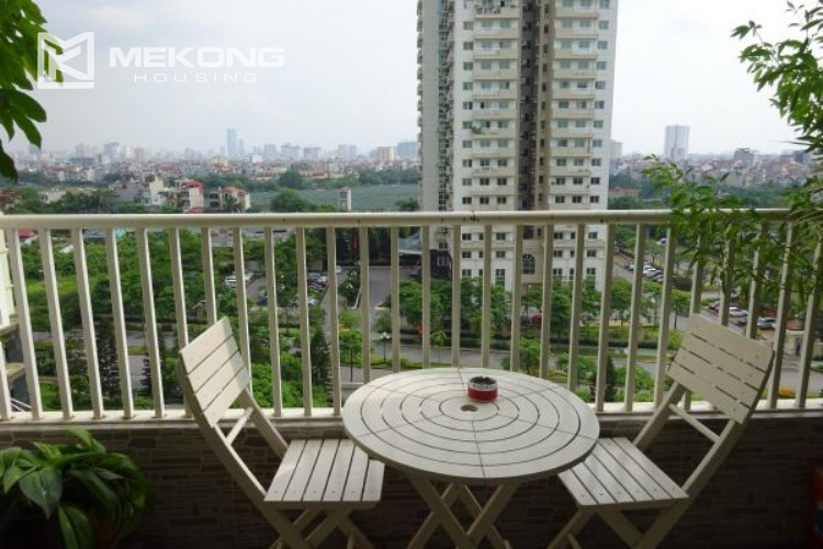 Luxury apartment for rent in P tower with 3 bedrooms 7