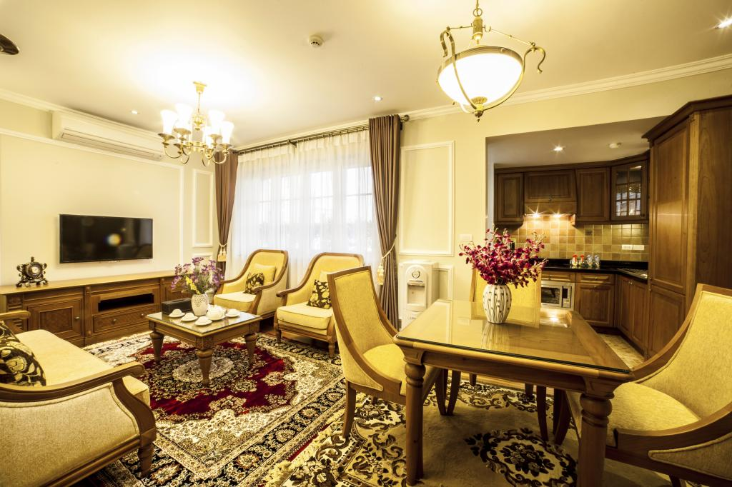 Luxury apartment with 1 bedroom for rent in Hai Ba Trung district, near Vincom Center Ba Trieu