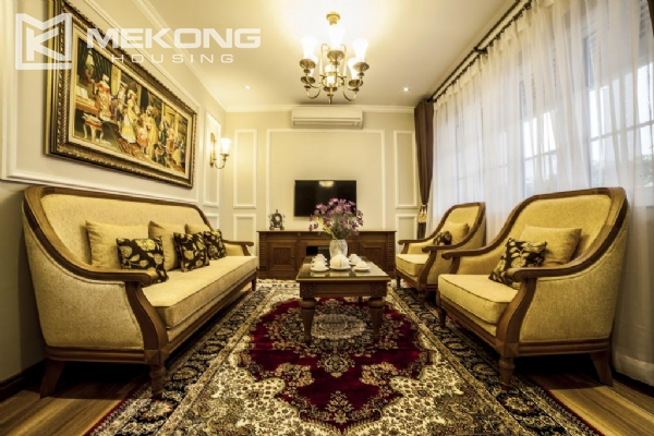 Luxury apartment with 1 bedroom for rent in Hai Ba Trung district, near Vincom Center Ba Trieu 2