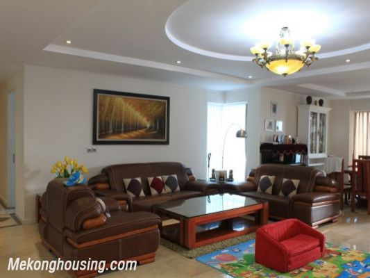 Luxury furnished apartment with 4 bedrooms for rent in L1 tower, Ciputra hanoi 1