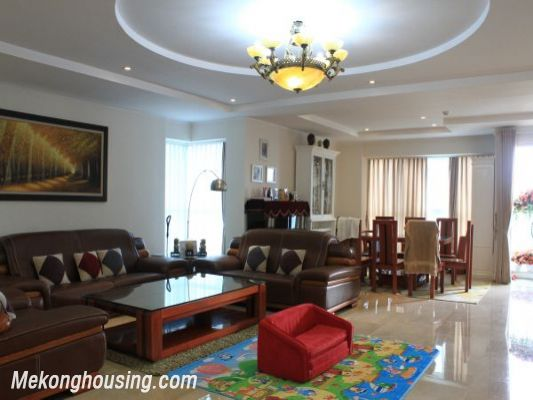 Luxury furnished apartment with 4 bedrooms for rent in L1 tower, Ciputra hanoi 2