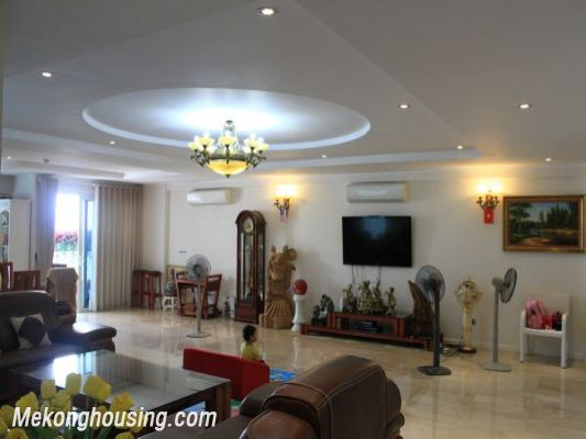 Luxury furnished apartment with 4 bedrooms for rent in L1 tower, Ciputra hanoi 3