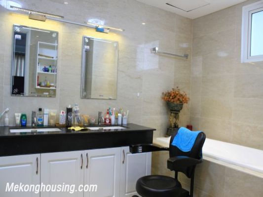 Luxury furnished apartment with 4 bedrooms for rent in L1 tower, Ciputra hanoi 12