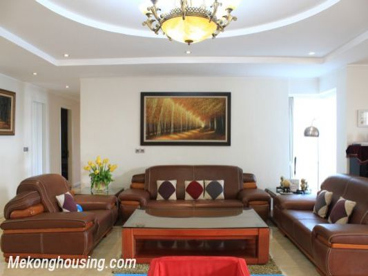 Luxury furnished apartment with 4 bedrooms for rent in L1 tower, Ciputra hanoi 5